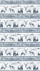 """End of Bolt - 36"""" - Misty Mountain - Flannel by Deborah Edwards for Northcott"""