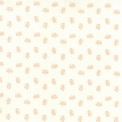 "End of Bolt - 69"" - Whitewashed Cottage - Pale Pink Mini Floral by 3 Sisters for Moda"