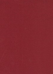 "10"" x 38"" Remnant - Wool  -Delicious Red<br>by Moda"