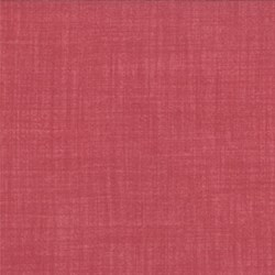 Weave - Crimson - Moda Textured Solid Natural