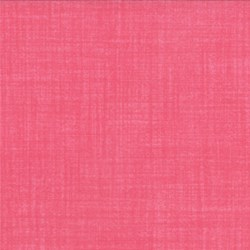 Weave - Carnation - Moda Textured Solid Natural