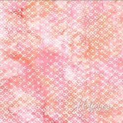 Hoffman Batiks -Creamsicle Batik Diamonds P2934-480
