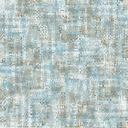 "End of Bolt - 79"" - Harbor Reflections #22951-41 Light Blue Mottled Windows - by Northcott Fabrics"