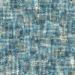 Harbor Reflections #22951-44 Dark Blue Mottled Windows - by Northcott Fabrics