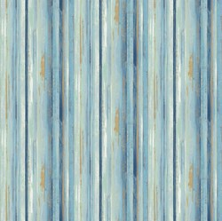 Harbor Reflections #22953-42 Multi Blue Stripe- by Northcott Fabrics