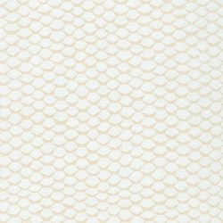 """31"""" Remnant - Pond Collection- Snow  Honeycomb Pattern by Elizabeth Hartman for Robert Kaufman"""