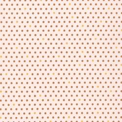 Pond Collection- Gold Polka-Dot Pattern by Elizabeth Hartman for Robert Kaufman