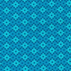 "End of Bolt - 48"" - Rhoda Ruth Collection- Breakers/ Geometric Pattern by Elizabeth Hartman for Robert Kaufman"