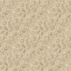 Vintage Find!  Stratford Park - Fawn Floral Print  #1012-31 - by Deborah Edwards for Northcott