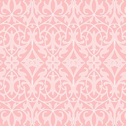 "End of Bolt - 62"" - Sweet Harmony - Pink Pattern - by Amy Hamberlin for Henry Glass & Co. Inc."