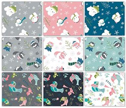 Winter Wonderland Fat Quarter Pack by Camelot Fabrics