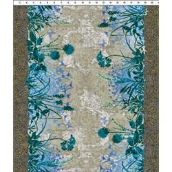Dreamscapes - Large Floral Blues