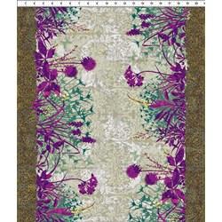 Dreamscapes - Large Floral Purples