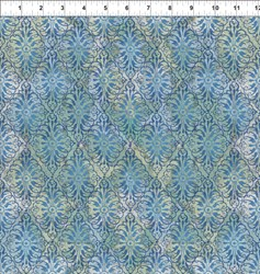 Dreamscapes - Blue Green Pattern
