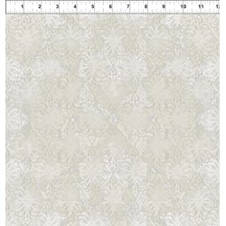 "End of Bolt - 72""- Dreamscapes - Cream Pattern"