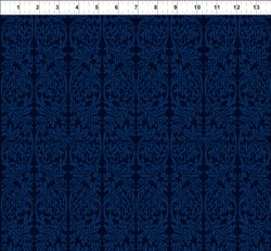 Dreamscapes - Dark Blues Pattern