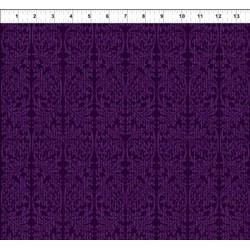 Dreamscapes - Dark Purple Pattern