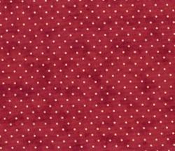 Vintage Find!! Essential Dots - Red - MODA