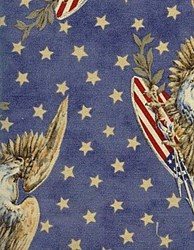 """8"""" Remnant - Liberty Garden Fabric <br>Eagle Star - Tan"""