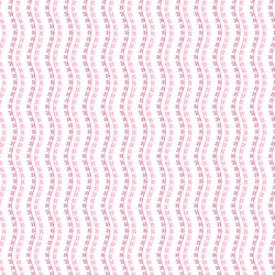 Little Sweethearts - Red & Pink Heart Vine Stripe - by Renee Nanneman for Andover Fabrics