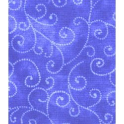 """9"""" Remnant - Moda Marble Swirls by Cozy Quilt Designs - Periwinkle"""