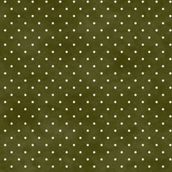 "24"" Remnant -  -Maywood Dots on Olive - Burgundy & Blush - Sew Merry Collection by Maywood Studios"