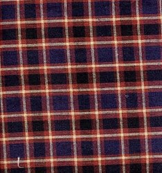 VINTAGE FIND!  Saltbox Farm Homespun Fabric <br>Midsumer Night Large Grid
