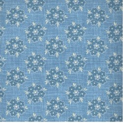 Everything Blue II - Blue Floral - by Clothworks