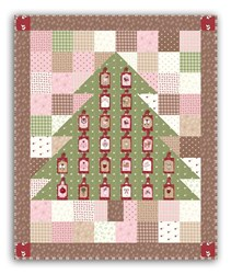 Charming Countdown to Christmas Advent All-Inclusive Wallhanging Quilt