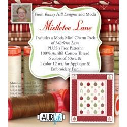 Mistletoe Lane Aurifil Thread Pack