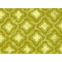 "21"" Remnant Piece - Olivia Quilting Fabric - Large Green Tonal Diamonds"
