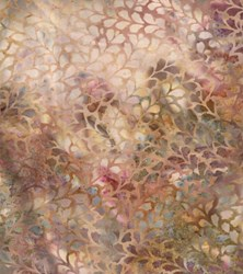 Retired Fabric!  Hand-dyed Batik -#P2940-219 Carnation - by Hoffman California Fabrics