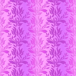 Paradise - Violet Ombre Stripe - In The Beginning Fabrics