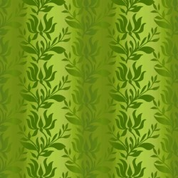 Paradise - Green Ombre Stripe - In The Beginning Fabrics
