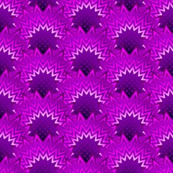 Paradise - Purple Arcs - In The Beginning Fabrics