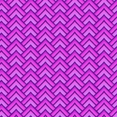 "End of Bolt - 61"" - Paradise - Chevron Violet - In The Beginning Fabrics"