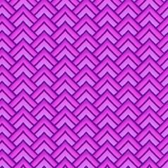 Paradise - Chevron Violet - In The Beginning Fabrics