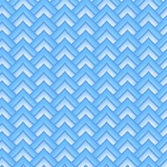 Paradise - Chevron Blue - In The Beginning Fabrics