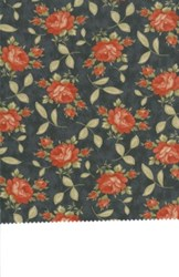 "21"" x 50"" Remnant -  - Prairie Paisley by Moda- Blue"