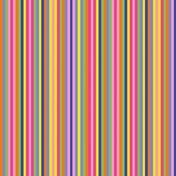 "End of Bolt - 54"" - Sassy Stripes - Rainbow"