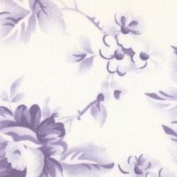 Fat Quarter - Remnant - Sanctuary - Simple Things - Linen/Lavender