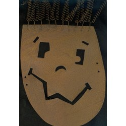Vintage Find! Jack-O-Lantern Pumpkin Mask - Tall