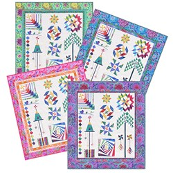 2020 Quilting Bee Whirlygig Garden SamplerFinal Assembly Instructions