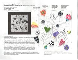 Sunshine & Shadows Button Backgrounds Button Kit