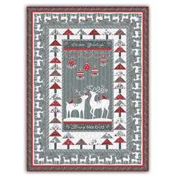 More Back in Stock!  Alpine Throw Quilt Kit - Includes Backing!
