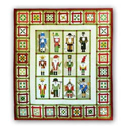 Classic Nutcracker in BatiksBlock of the Month or All at Once Quilt Kit Start Anytime!