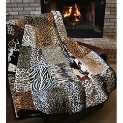The Serengeti Snuggler Minky Quilt Pattern Download