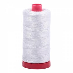 Aurifil Mako Cotton Embroidery Thread 12wt 356yds Dove # A100122600