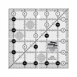 "Creative Grids 5 1/2"" x 5 1/2"" Ruler"