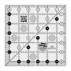 """Creative Grids 6 1/2"""" x 6 1/2"""" Ruler"""